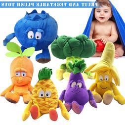 1Pcs Fruit Vegetables Soft Plush Toy <font><b>Stuffed</b></f