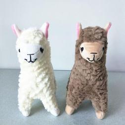 2 pcs Cute Fad Alpaca Plush Baby Toys Stuffed Animals Soft D