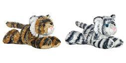 "Bundle of 2 Aurora Plush Animals - 8"" Tanya Tiger and Shazam"