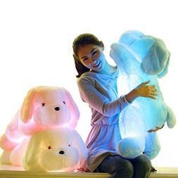 AIGOROSE 20 Inch Light Up LED Dogs Stuffed Animals Plush Toy