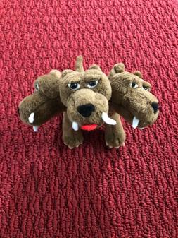 2002 Harry Potter Fluffy The 3 Headed Dog Stuffed Animal by