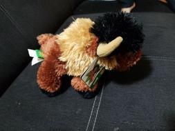 "2013Wild Republic 7.5"" Stuffed BISON, BUFFALO Animal, Plush,"
