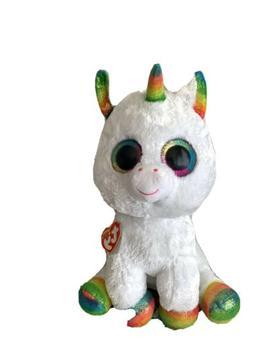 "~ New! 2017 Ty Beanie Boos PIXY the Unicorn Large 16"" size B"