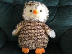 2017 Mills Fleet Farm Stuffed Animal Owl Plush Bird 14""