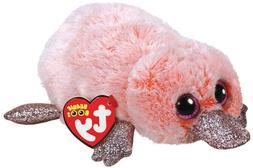 "2018 Ty Beanie Boos 6"" WILMA Pink Platypus Stuffed Animal Pl"