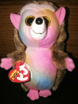 2018 Ty Beanie Baby Boos Pinecone Hedgehog Soft Plush Stuffe