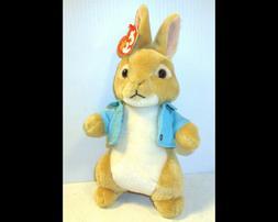 2018 Ty Beanie Baby Plush Stuffed Peter Rabbit Cotton Tail T