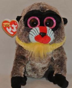 "New! 2018 Ty Beanie Boos WASABI the Baboon 6"" size IN HAND"