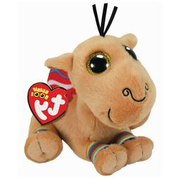 "2019 Ty Beanie Boos 6"" JAMAL the Carmel Stuffed Animal Plush"