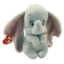 "2019 TY Beanie Baby 6"" DUMBO Elephant Plush Stuffed Animal w"