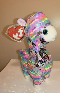 "2020 TY Flippables LOLA the Llama Gift Show Exclusive 6"" siz"