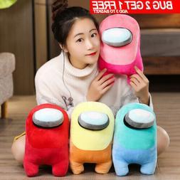 20CM Among Us Plush Soft Stuffed Toys Doll Kids Game Figure