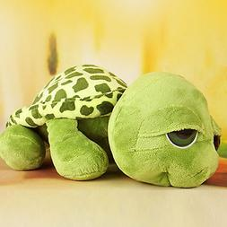 Cute Big Eyes Green Tortoise Turtle Animal Baby Kids Stuffed