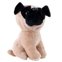 20cm Cute Puppy Pug Plush Doll Soft Stuffed Pet Animal for C