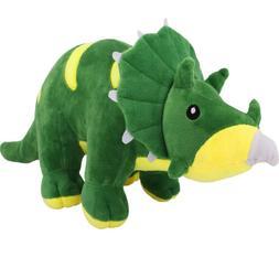 Zooawa 21in Cute Triceratops Dinosaur Big Soft Plush Stuffed
