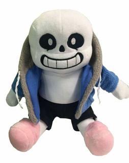 22cm Undertale Sans Plush Doll Soft Stuffed Toy Hugger Cushi