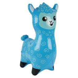 "24""  purple Alpaca - Llama  Inflatable - Inflate Blow Up Toy"