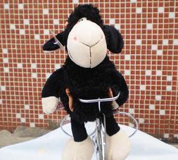 25 CM girl flower black sheep Stuffed Animals soft toy baby