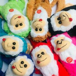 "26"" Plush Hanging Monkey STUFFED ANIMAL monkeys Hook Loop HA"