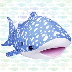 LALA HOME 28'' Whale Shark Plush | Large Stuffed Animal | Ne