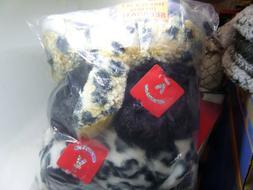 Aurora Bundle of 3 Stuffed Beanbag Animals:Snow Leopard, Str