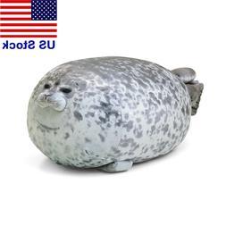 30cm Chubby Blob Seal Plush Animal Toy Cute Ocean Animal Pil