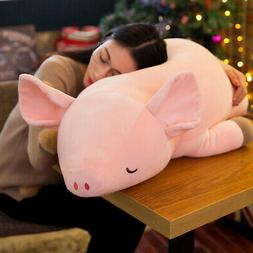 30CM Stuffed Animal Plush Doll Cute Pink Pig Soft Toys Kids