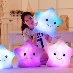 34CM Creative Toy Luminous Pillow Soft <font><b>Stuffed</b><