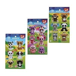 Beanie Boos 3D Sticker Mega Pack: Pets, Jungle and Girly Sti