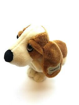 """5"""" Classic Basset Hound - Small Hush Puppies Aurora Plush St"""