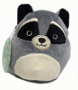 Squishmallow 5 Inch Raccoon Plush Super Soft Squishy Stuffed