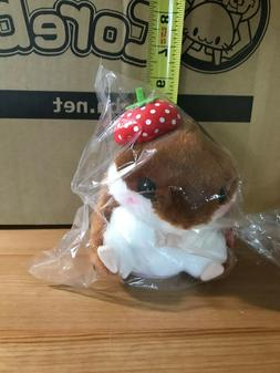 "5"" Strawberry Hamster Plush Doll Stuffed Animal Coroham Coro"