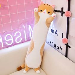 50 / 90CM cute plush cat doll soft hair <font><b>kitten</b><