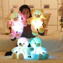 50cm Creative Light Up LED Teddy Bear Stuffed Animals Plush