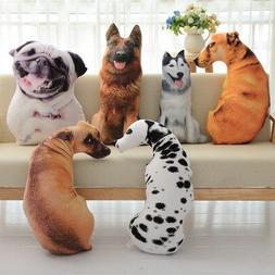 50cm Cute Simulation Dog Plush Toy 3D Printing Stuffed Anima