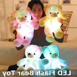 50cm LED Flash Teddy Bear Colorful Stuffed Animals Plush Toy