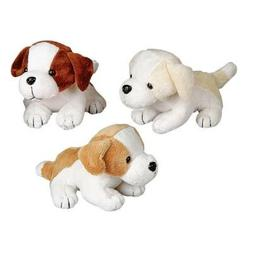 """6"""" Assorted Color Adorable Plush Puppy Dogs"""