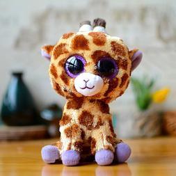 "6""ty Beanie Boos Glitter Eyes Plush Stuffed Animals Toys Kid"
