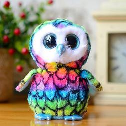 "6"" tyBeanie Boos Glitter Eyes Plush Stuffed Animals Toys Kid"