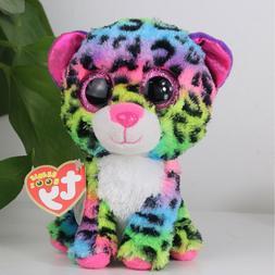 "6""Beanie Boos Glitter Eyes Plush Stuffed Animals Toy Kids Xm"