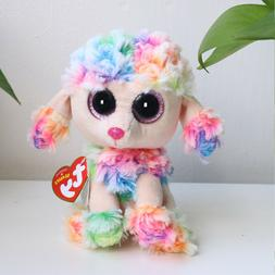 "6"" Beanie Boos Glitter Eyes Plush Stuffed Animals Toys Kids"
