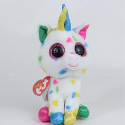 "6""Beanie Boos Glitter Eyes Plush Stuffed Animals Toys Kids X"
