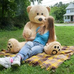 WOWMAX® 6 Foot Giant Teddy Bear Stuffed Animals Brown