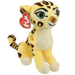 "6"" Fuli Ty Beanie Babies Cheetah Glitter Eyes Plush Stuffed"