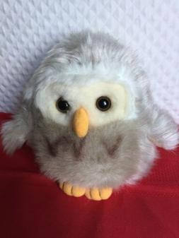 "6"" owl plush stuffed animal by Alfa's Fuzzy Town Inc."