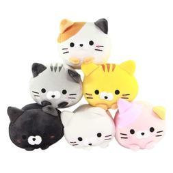 """6"""" Plush Cat Squishy Toy Super Soft Stuffed Animal Neko Koro"""