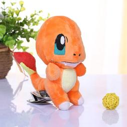 "6"" Plush Toy Charmander Collectible Game Figure Stuffed Anim"