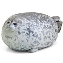 60cm Chubby Blob Seal Plush Pillow Animal Toy Cute Ocean Ani