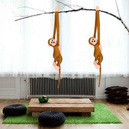 60cm Fad Long Arm Hanging Monkey Plush Baby Toys Stuffed Ani