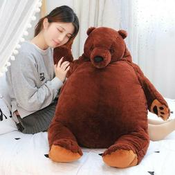 60cm giant simulation DJUNGELSKOG bear toy Brown Teddy Bear